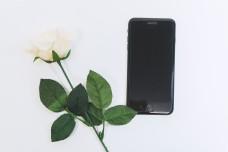 电子产品黑色手机商务风