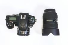 单反相机与单反广角镜头