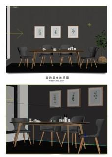 桌子和椅子