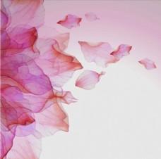 粉色梦幻炫彩花朵