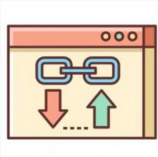 网站优化手绘图标