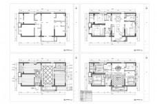 欧式家装CAD施工图纸