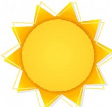 創意夏季太陽促銷海報矢量素材