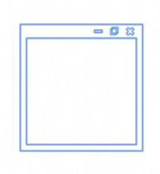 模仿电脑文件框边框