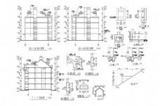 小高层建筑CAD施工图纸