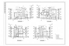 CAD欧式风格建筑施工图纸