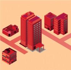 适量建筑 红房子 建筑适量