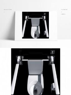 现代简约白色陶瓷马桶