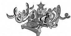 音乐AI线稿
