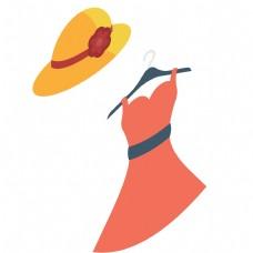 女款的帽子服装