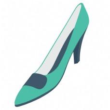 绿色的卡通鞋子