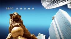 石獅子獅子雕塑