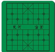 双功能时尚象棋桌