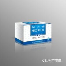 高档礼盒保健品蛹虫草肽包装设计