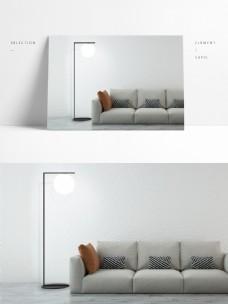 现代极简设计风格落地灯1