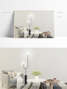 现代极简设计风格落地灯2