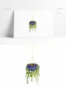 室内通用盆栽模型