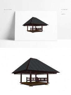 常用凉亭SU三维模型