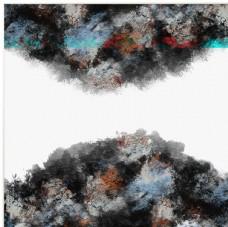 新中式抽象山水装饰画