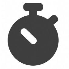 圆形的卡通地雷