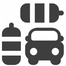 汽车卡通图标设计
