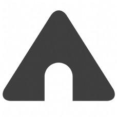 三角形卡通图标