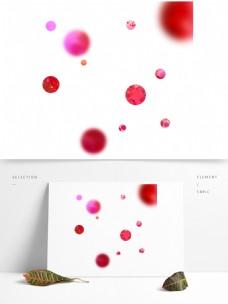 电商彩色装饰球形元素
