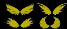 翅膀笔刷集合