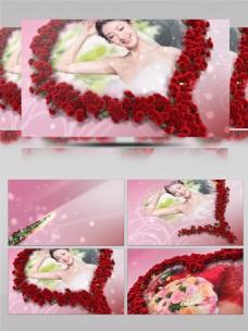 婚礼婚庆玫瑰爱心相册