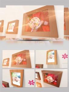 唯美婚礼婚庆相册相框照片墙