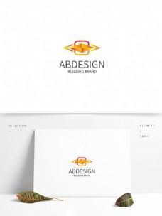金色宝石logo设计
