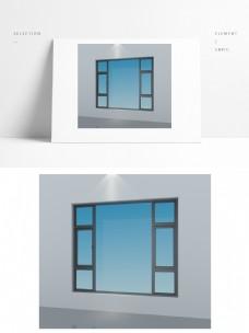 简约窗子3d模型