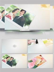 简洁婚庆婚纱照片电子相册