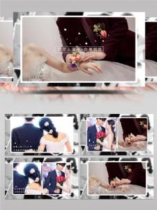 唯美浪漫婚礼相册AE模板