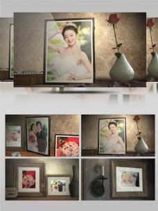 唯美婚礼照片相框电子相册