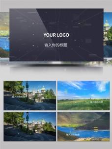 震撼大气科技感视差效果图文宣传片AE模板