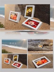 海洋海滩爱情回忆电子相册