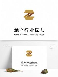 簡約大氣地產logo