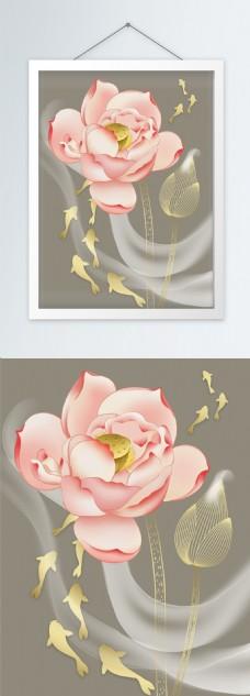 新中式茶禅书房客厅装饰画