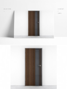 通用木门展示模型