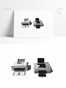 两个桌面打印机模型