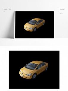 现代汽车3d模型