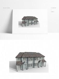现代简约别墅模型带贴图