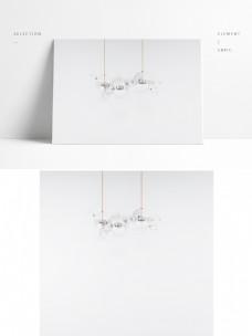 现代简约吊顶灯展示