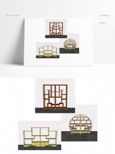 中式家具之百宝阁
