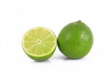 柠檬白底图