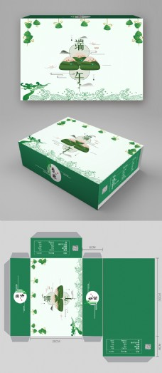 原创端午礼粽礼盒包装设计