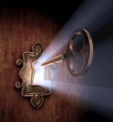 鑰匙 開鎖 復古