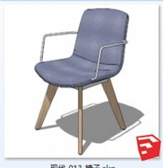 su 现代 简约 座椅 skp