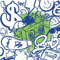 街头个性涂鸦